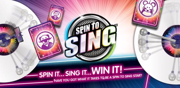 Spin to Sing splashscreen