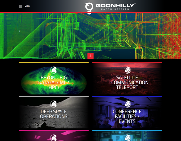 Goonhilly Earth Station homepage